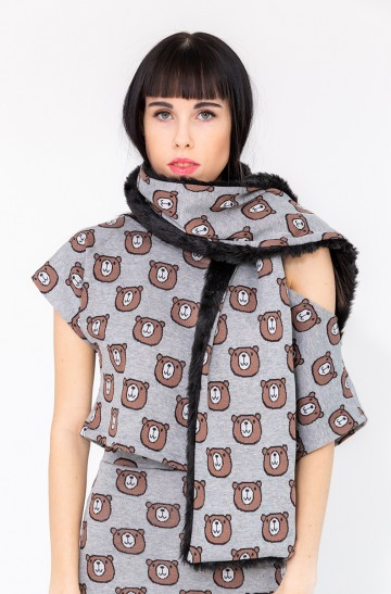 BEAR WITH ME SCARF